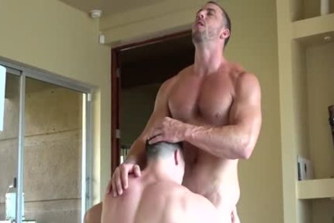 Amazingly straight FIT knobs Have nasty Muscle Sex & nail HARD!