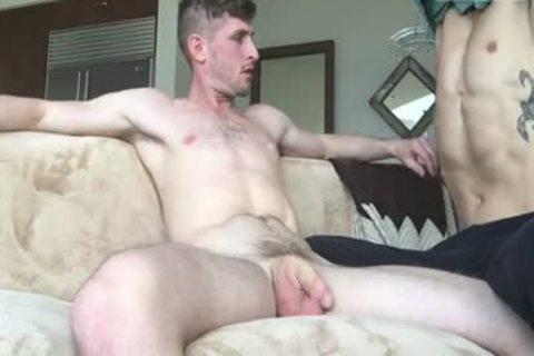 Jared fucks Hosskado whilst Daddy Is At Work