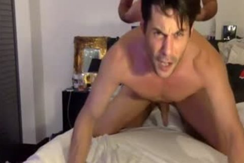 Hungry cock In a-hole And mouth